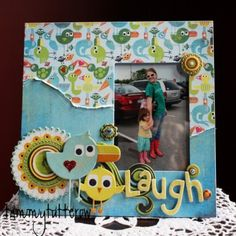 Tammy Tutterow - Inspiration for BG Lime Rickey. Would turn it into a layout, though.