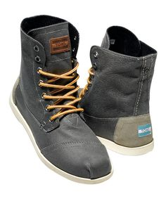 8409ab5a87ef6 Look at this Taupe Aviator Twill Utility Boot on  zulily today!-- I