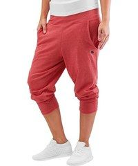 5e98effd9c Just Rhyse kalhoty dámské tepláky Harem Sweatpants Light Red Melange