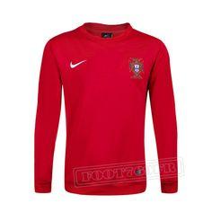 Promo:Le Meilleur Du Nouveau Training Sweatshirt Portugal Rouge 2016 2017 Slim Personnalise