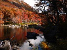Lago Baggilt - Trevelin - Futaleufú - Provincia del Chubut Patagonia, Ushuaia, Country, South America, Chile, Mystic, Paradise, Mountains, Landscape