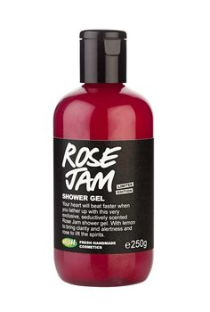Lush Rose Jam Shower Gel Smells Freakin' Amazing. And it's back for a limited time, so you should stock up.
