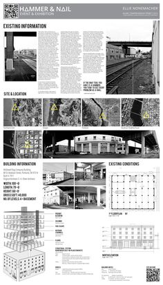 Ellie Nonemacher Thesis Project Studio Architectural Drawings