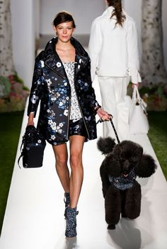 Mulberry Spring 2013 (and a poodle!)