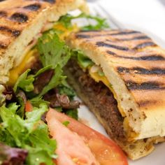 I'm checking out a delicious recipe for Cheeseburger Panini Style from Smith's Food and Drug! Cheese Burger, Panini Sandwiches, Wrap Sandwiches, Garlic Aioli Recipe, Smiths Food, Chopped Steak, Panini Recipes, How To Cook Burgers, Cooking Recipes