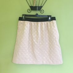 Ann Taylor Loft skirt. Ann Taylor LOFT skirt.  Pink and has a shine to it at different angles.  Also has pockets on sides.  Size 6. Ann Taylor Skirts