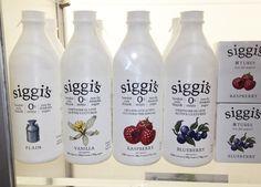 Siggi's Swedish Style Filmjolk, winner, Best Use of Color, chosen by Goldforest on Branding, Fancy Food Show 2013
