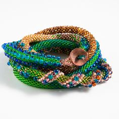 freestyle peacock bead crochet rope - Forums - Bead Magazine - Online Community, forums, blogs, and photo galleries