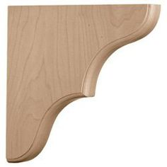 "1 3/4""W x 7 1/2""D x 7 1/2""H Medium Stratford Wood Bracket by Wholesale Millwork. $17.61. 1 3/4""W x 7 1/2""D x 7 1/2""H Medium Stratford Wood Bracket. Save 15% Off!"
