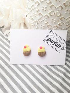 Orecchini Cupcake di LeBonheurParfait su Etsy