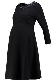 Bestill Anna Field MAMA Sommerkjole - black for kr 499,00 (16.11.16) med gratis frakt på Zalando.no