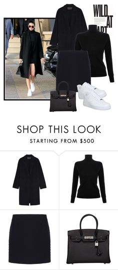 """19/01/16(2)"" by miramiclairs on Polyvore featuring мода, Donna Karan, Victoria, Victoria Beckham, Balenciaga, Hermès, NIKE, women's clothing, women's fashion, women и female"