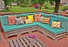 Pallet Sectional Plans | Pallets Furniture Designs
