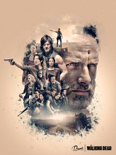 The Walking Dead on Behance