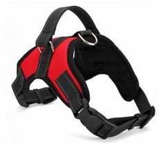 PlayDo Dog Soft No Pull Vest Harness Durable Handle for Outdoor Training Walking * Additional details at the pin image, click it  : Cat Collar, Harness and Leash