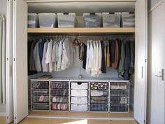Perfect Storage Ideas For Your Apartment Decoration A floor to ceiling bike rack can be the perfect solution for storing your bike especially if you live in … Apartment Closet Organization, Diy Organization, Small Apartment Closet, Small Apartment Storage, Clothing Organization, Clothing Storage, Small Apartment Living, Apartment Kitchen, Bedroom Apartment