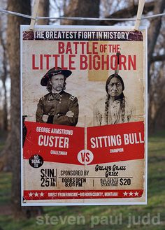 Battle of the Little Big Horn 11x17 signed print
