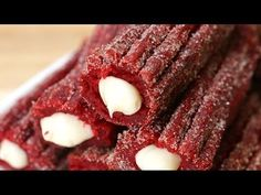 It's Time To Crave Cream-Filled Red Velvet Churros