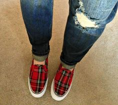 5 reasons I Can't Live Without You plaid sneakers Target