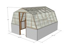 Want to learn how to build a greenhouse? Here are a few of our favorite DIY greenhouse ideas using simple building supplies! Greenhouse Panels, Diy Greenhouse Plans, Indoor Greenhouse, Backyard Greenhouse, Small Greenhouse, Portable Greenhouse, Homemade Greenhouse, Greenhouse Wedding, Outdoor Projects