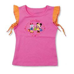 CAMISETA MINNIE & DAISY ROSA