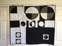 Modern Wall Hanging | Home Decor | Machine Quilted Wall Hanging | Phases of tge Moon by QuiltAroundTheClock on Etsy https://www.etsy.com/au/listing/511639387/modern-wall-hanging-home-decor-machine