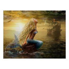Poster Mermaid /option2