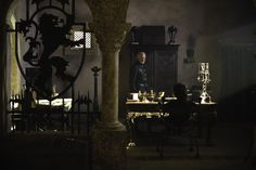 Take a peek into Tywin Lannister's chamber... #gameofthrones #tywinlannister #lannister