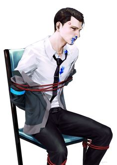 Detroit become human Connor  By: o0Par0o