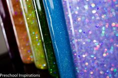 Need a simple and easy calm down jar or glitter jar? These calming bottles can be made several different ways. Here are six glitter bottle recipes. Quiet Time Activities, Activities For 2 Year Olds, Kids Learning Activities, Toddler Activities, Toddler Learning, Sensory Activities, Cognitive Activities, Babysitting Activities, Sensory Tools
