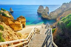 Portugal is home to mile upon mile of truly epic beach scenery, but which are the best? Here are 10 of its most beautiful beaches to get you started, from the top spots of the Algarve to the postcard-worthy fishing village of Carvoeiro, the striking waterfront chapel of Miramar, and unusual red cliffs at Falesia.
