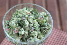 Grønkåls- og rosenkålssalat med mayodressing - LCHF