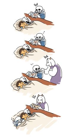 Undertale doujinshi – The small doujinshi of the Undertale I found were: 3 Because I am crazy about this game and the art is so beautiful Undertale Sans, Undertale Comic Funny, Anime Undertale, Undertale Memes, Undertale Drawings, Frisk, Arte Do Kawaii, Cute Comics, Funny Comics