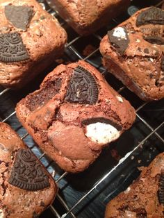 Lorraine Pascale recipe...lush...Oreo Chocolate Brownies