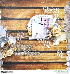 Image result for kaisercraft scrapbooking layouts using the documented papers