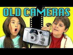 KIDS REACT TO OLD CAMERAS - YouTube