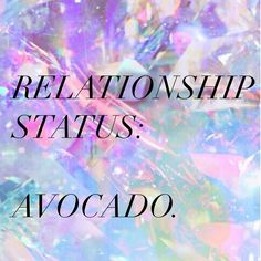 RELATIONSHIP STATUS: AVOCADO Handmade by us for you (please credit!)  Big shout out to all the single peeps out there  We are all single really if you think about  Single but alt_TOGETHER  We love you  alt Network Members @loveprojectlove have the best tips for 'masterdating' (dating yourself) if you need any tips!  P.s where on earth is the avocado emoji? . For more inspiration for balance  wellness  online  IRL  Events  retreats  Sign up for freebies  offers from our global wellbeing…