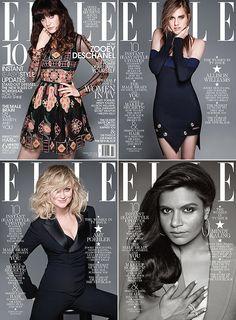 elle magazine covers | elle-magazine-women-in-tv-mindy-kaling-zooey-deschanel-amy-poehler ...