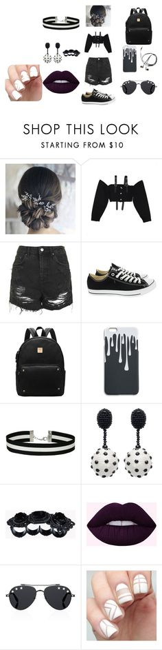 """""""my first set using 1st template"""" by maddie-hatter23 on Polyvore featuring M.Y.O.B., Topshop, Converse, Miss Selfridge, Oscar de la Renta, Dsquared2 and Givenchy"""
