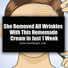 The recipe we are revealing today is a real miracle, which will remove wrinkles and make your skin smooth, shiny, and healthy -almost instantly! This secret recipe contains only 4 ingredients, and...