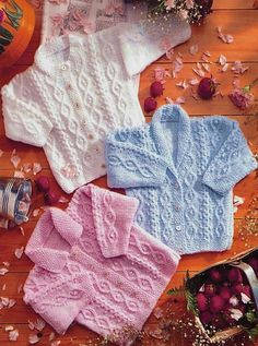 Littlewoods Knitting Patterns for Baby