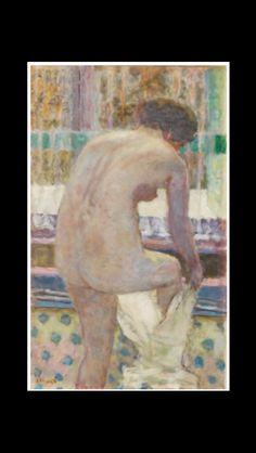 Pierre Bonnard - Nu s'habillant, 1925 - Huile sur toile - 74 x 45 cm