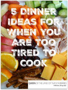 5 Dinner Ideas for W