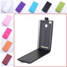 Luxury Flip Leather Cover Case for Xiaomi Redmi 3S 3 S Vertical Back Cover Phone Case for Xiaomi Redmi 3 S 3S Pro / Redmi 3 Pro