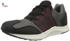 Armani Jeans  9350376A438, Sneakers Basses homme - Gris - Grau (ANTRACITE 02842), 42 - Chaussures emporio armani (*Partner-Link)