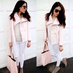 Light pink Old Navy Jacket Light pink Old Navy Jacket size XS. In excellent condition only worn a few times. Snap detailing  great color! No trades sorry! Old Navy Jackets & Coats Pea Coats