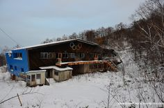 Mt. Teine Bobsled Finish House in Sapporo, Japan was used in the 1972 Winter Games. Source: Abandoned Kansai