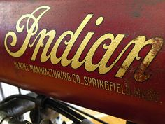 Vintage Indian Motorcycle by TimSchmidt (Digammo), via Flickr