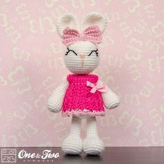 Looking for your next project? You're going to love Olivia the Bunny Amigurumi by designer oneandtwoco. - via @Craftsy