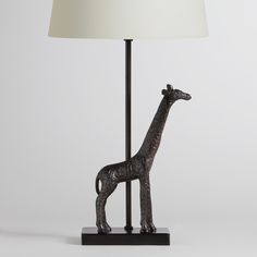 Giraffe Accent Base | World Market $24.99 (Great for a kid's room)